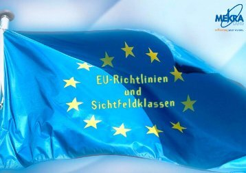EU-Richtlinien und Sichtfeldklassen