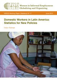 Domestic Workers in Latin America: Statistics for ... - Inclusive Cities