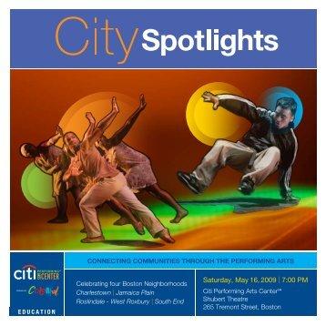 Saturday, May 16, 2009 | 7:00 PM - Citi Performing Arts Center