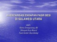 EKSPLORASI PASIR BESI (Hotma M). - Pusat Sumber Daya Geologi