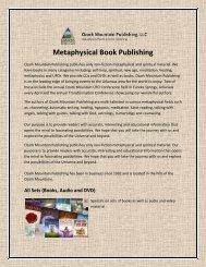 Metaphysical Book Publishing