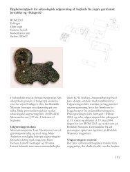 Bygherrerapport for arkæologisk udgravning af ... - Roskilde Museum