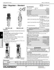 SB2 Series - Wilkerson Corporation