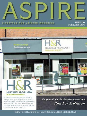 Run For A Reason - Aspire Magazine