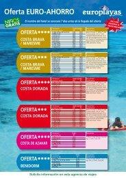 Oferta EURO-AHORRO - Viajes ViaVerde