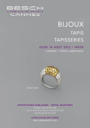 BIJOUX - Besch Cannes Auction