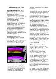 Ved konvensjonell stråleterapi benyttes fotoner – d - Ous-research.no