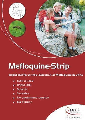 Mefloquine-Strip - Coris Bioconcept