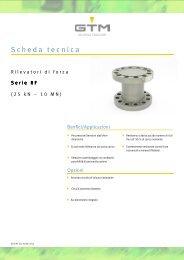Scheda tecnica Serie RF - GTM GmbH