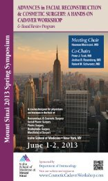 Employee Handbook - Mount Sinai Hospital