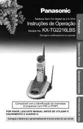 KX-TG2216LBS.pdf - Panasonic