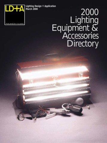 034-070/alpha list 3/2000 REV - Illuminating Engineering Society