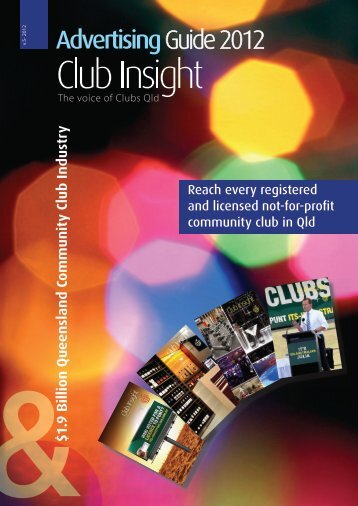 Club Insight Media Guide - Clubs Queensland