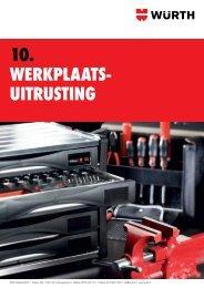 10. Werkplaats- uitrusting - Würth Nederland