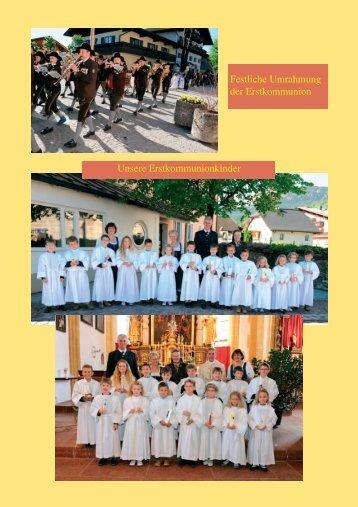 Pfarrblatt SOMMER 2012 - Bilder - Pfarre Bad Vigaun