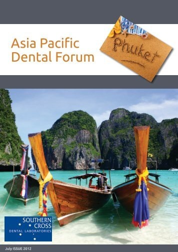 Asia-Pacific Dental Forum Flyer & Registration Form