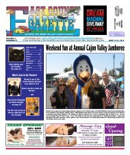 May 17 - East County Gazette
