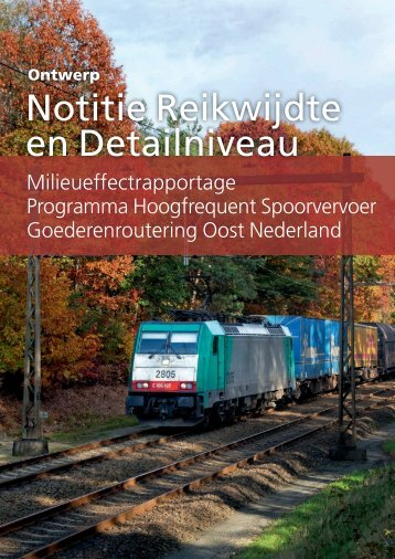 Notitie Reikwijdte en Detailniveau - Rijksoverheid.nl