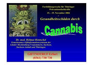 PDF Dokument (912KB) - Giftinformationszentrum Erfurt