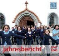 Jahresbericht 07/08 - Sacre Coeur Riedenburg - Schulen Riedenburg