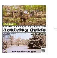 Activity Guide - City of Salina, Kansas