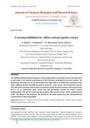 Corrosion inhibition by Allium sativum (garlic) extract - Journal of ...