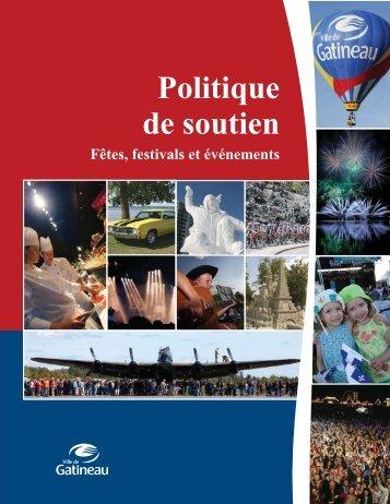 Politique de soutien - Ville de Gatineau