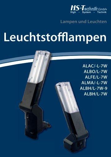 Leuchtstofflampen - HS-Technik