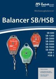 SB-600 SB-1200 SB-2000 SB-3000 SB-5000 SB-7000 ... - HS-Technik