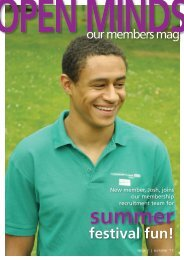 Issue 1 | Summer 2011 - West London Mental Health NHS Trust