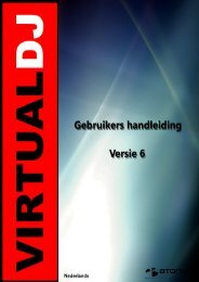 handleiding - Virtual DJ