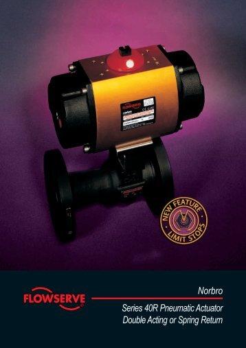 Norbro Series 40R Pneumatic Actuator Double Acting ... - Fagerberg