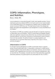 COPD - Abbott Nutrition