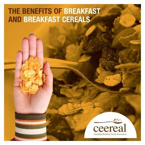 The benefits of breakfast and breakfast cereals - Ceereal
