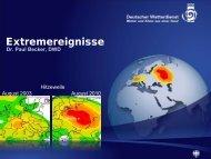 Vortrag - Deutsches Klima Konsortium
