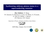 Synthesizing arbitrary photon states in a superconducting resonator
