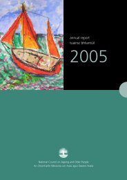 Annual Report 2005 - National Council on Ageing and Older People