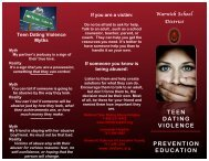 Teen Dating Violence Prevention - Warwick School District