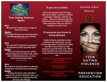 Teen Dating Violence Prevention - Warwick School District