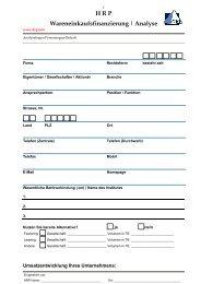 HRP Wareneinkaufsfinanzierung - Heyd, Reims & Partner GmbH ...