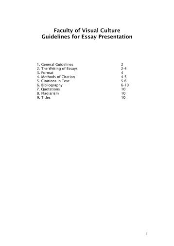 canterbury high school style guide guidelines for writing essays  guidelines for essay presentation national college of art and design