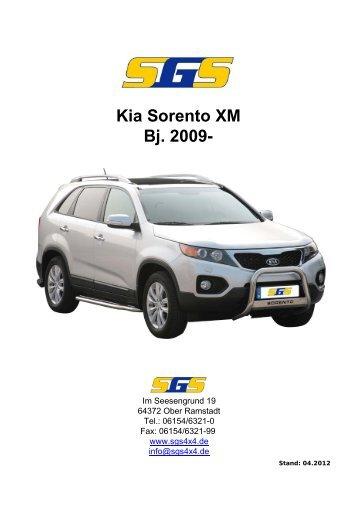 Kia Sorento XM Bj. 2009- - SGS