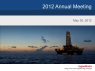 2012 Annual Meeting - PrecisionIR