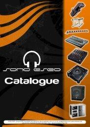 Catalogue SONO ESEO
