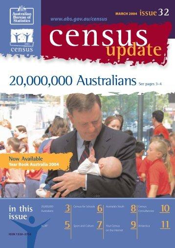 Census Update 32.pdf - Australian Bureau of Statistics