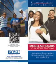 Program Flier 2013 - Elizabeth City State University