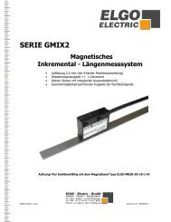 SERIE GMIX2 - ELGO Electric GmbH