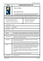 81 kb - EASA Airworthiness Directives Publishing Tool - Europa