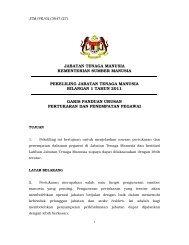 Garis Panduan Urusan Pertukaran dan Penempatan Pegawai JTM
