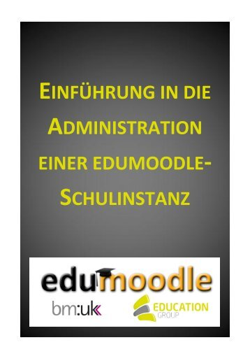 Handbuch: Administration in Moodle - edumoodle